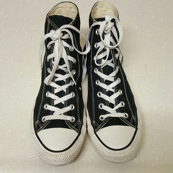 Converse All Star Black High top Sneakers Unisex